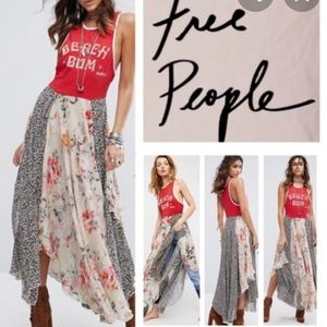 FREE PEOPLE NWOT BEACHWOOD MAXI DRESS